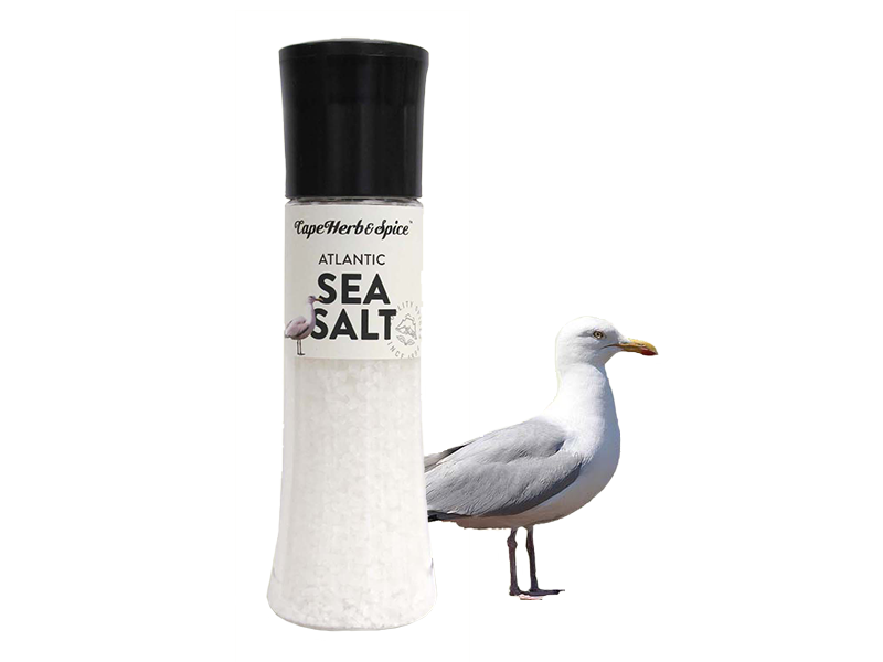 TALL ATLANTIC SEA SALT GRINDER