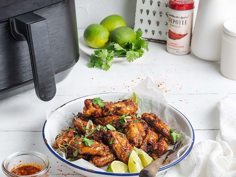 CAPE HERB & INSTANT POT - CHIPOTLE, HONEY & LIME WINGS