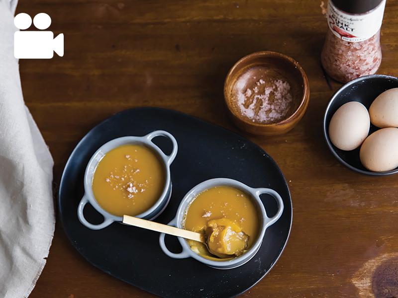 Salted Caramel Pots