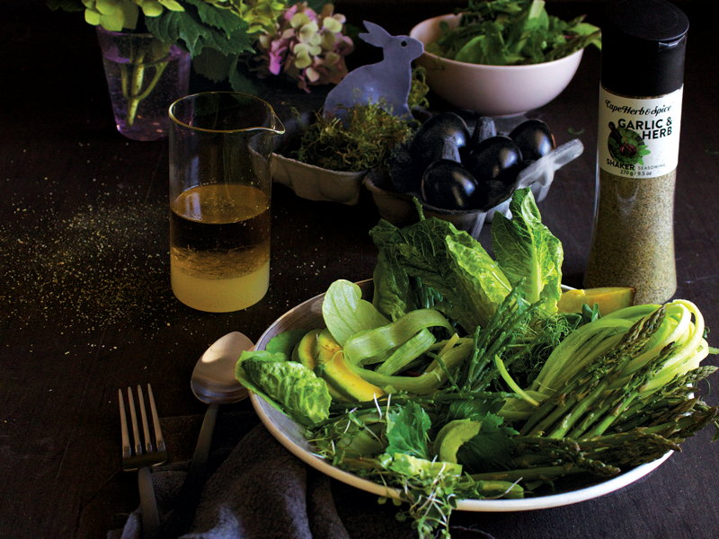 (F)Easter #4: Super Green Salad