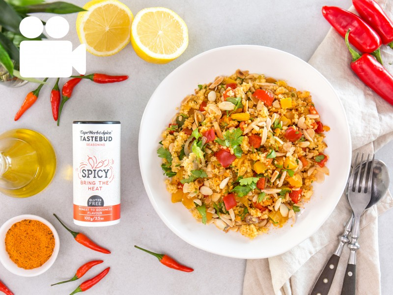 SPICY VEGETABLE COUSCOUS