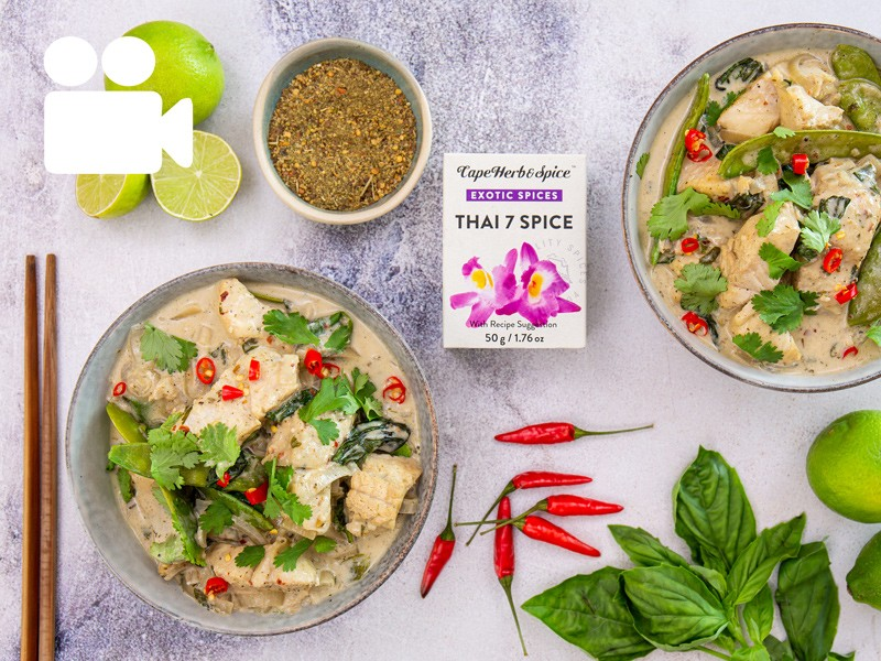 FRAGRANT THAI FISH CURRY