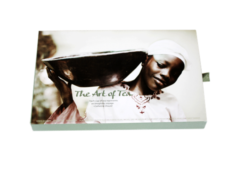 THE ART OF TEA SLIDE BOX