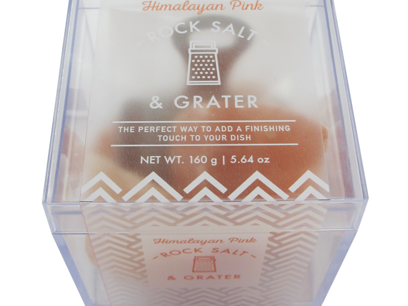 HIMALAYAN ROCK SALT & MINI GRATER